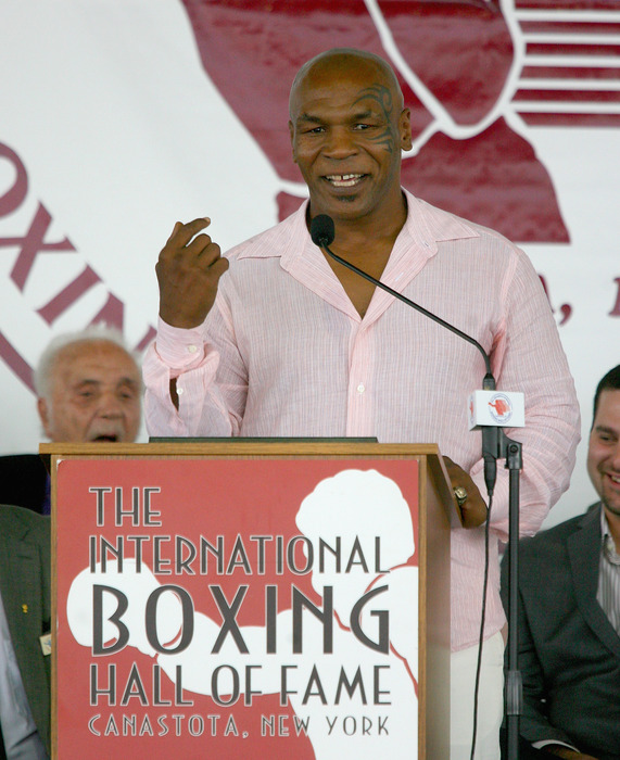 Mike Tyson's early life will be the basis for an upcoming HBO show. (Photo by Rick Stewart/Getty Images)