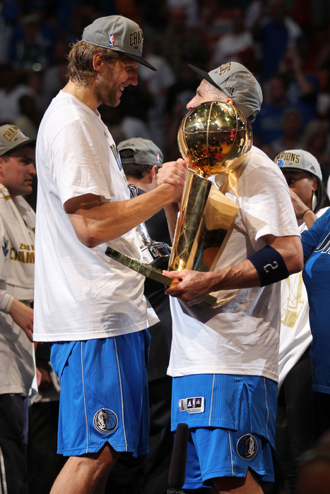 Dirk Nowitzki won the gold ball last year, but his career resume is still missing something - a Thunder Plunderer of the Year Award!