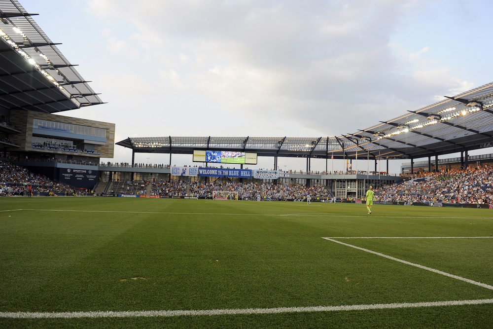 David Ficklin, designer of Livestrong Sporting Park, took some time to talk with Isaac Knopf of The Footy Chronicles. (Photo by G. Newman Lowrance/Getty Images)