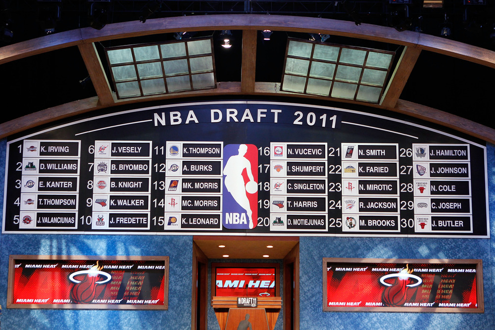The NBA Draft board would look quite different than this if the NBA's current proposal goes through after the NBA lockout.