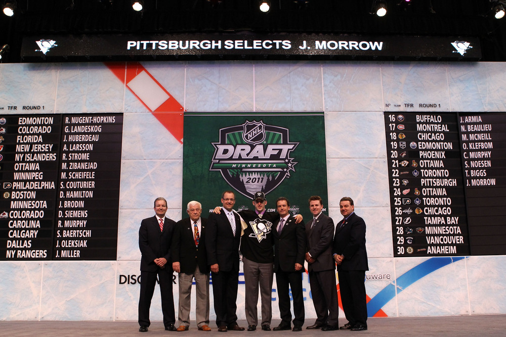 The draft: Where men in suits pick names.