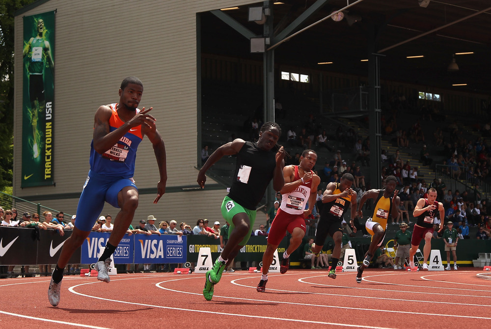 Terrell Wilks looks to lead the Gators track and field team to championship glory.