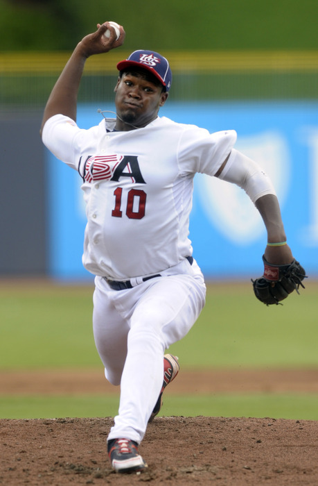 You won't see Courtney Hawkins doing this for the White Sox.