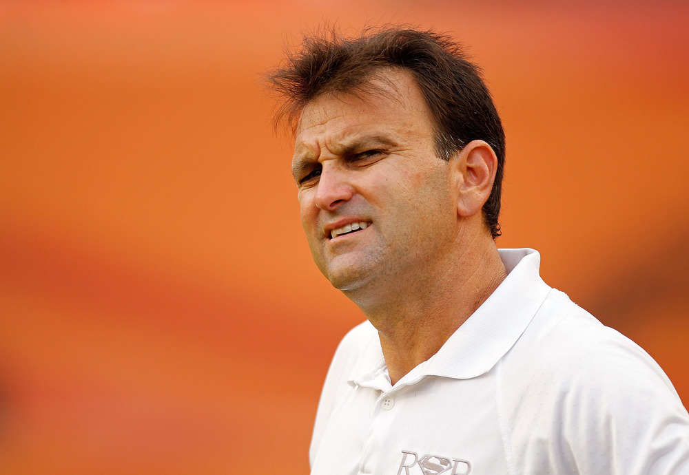 MIAMI GARDENS, FL - AUGUST 19: Agent Drew Rosenhaus looks on during an NFL game between the Miami Dolphins and the Carolina Panthers at Sun Life Stadium on August 19, 2011 in Miami Gardens, Florida.  (Photo by Mike Ehrmann/Getty Images)