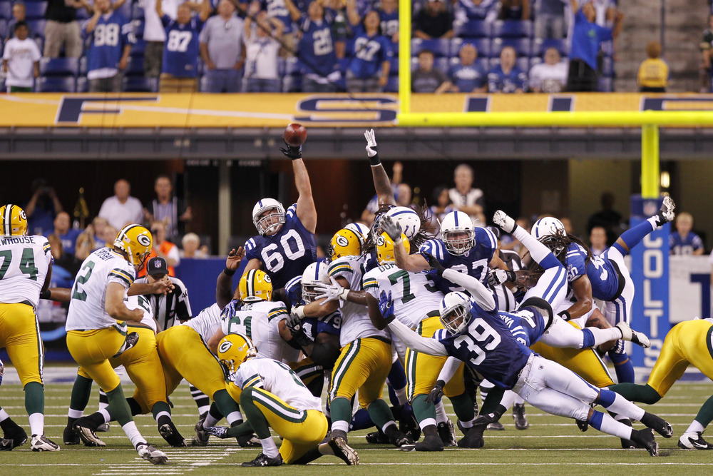 The Packers won on Friday night, and so did a few lucky, prescient APC readers. (Photo by Joe Robbins/Getty Images)