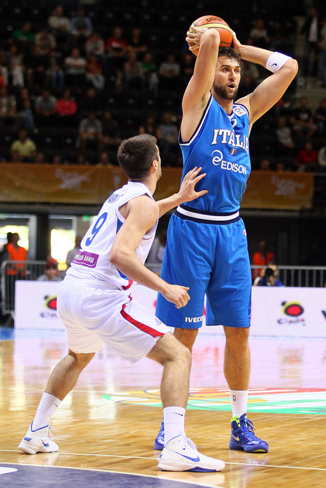 He's put up some great scoring numbers, but international play has done little to suggest that there's more to Andrea Bargnani than meets the eye.