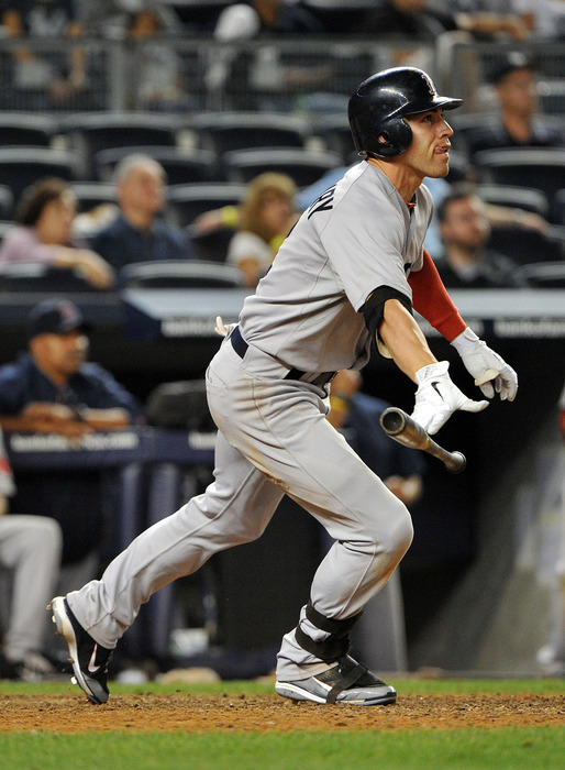 Jacoby Ellsbury will be healthy soon, and that means the Red Sox will need to make some room for him on the roster. (Photo by Christopher Pasatieri/Getty Images)