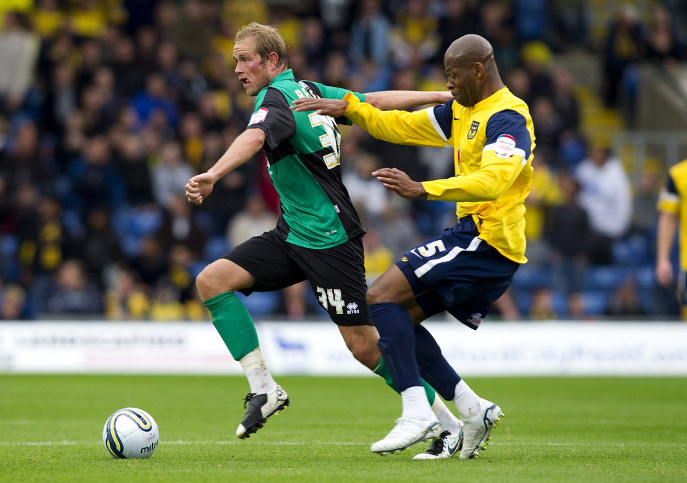 Ex-Leeds player Michael Duberry currently plays for Oxford United.  (Photo by Ben Hoskins/Getty Images)