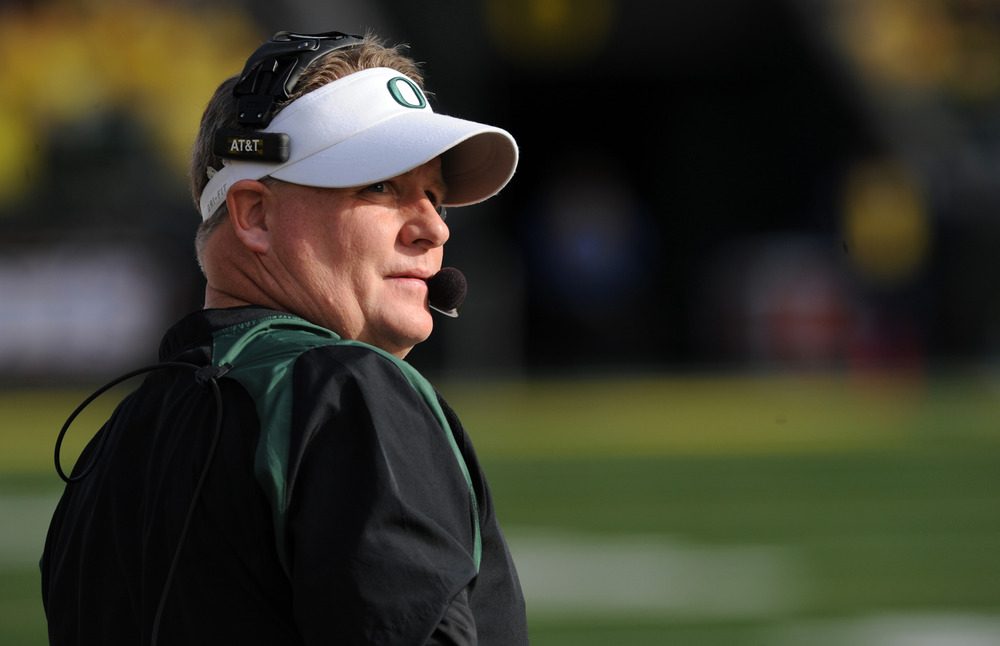 Chip Kelly doesn't care about where the Ducks rank nationally. He's more concerned with creating fake QB controversies.