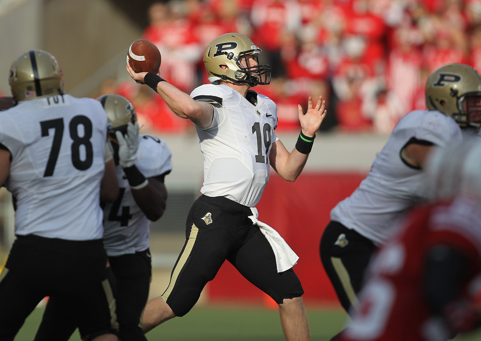 Caleb TerBush is the most Purdue name ever. Congrats. (Photo by Jonathan Daniel/Getty Images)