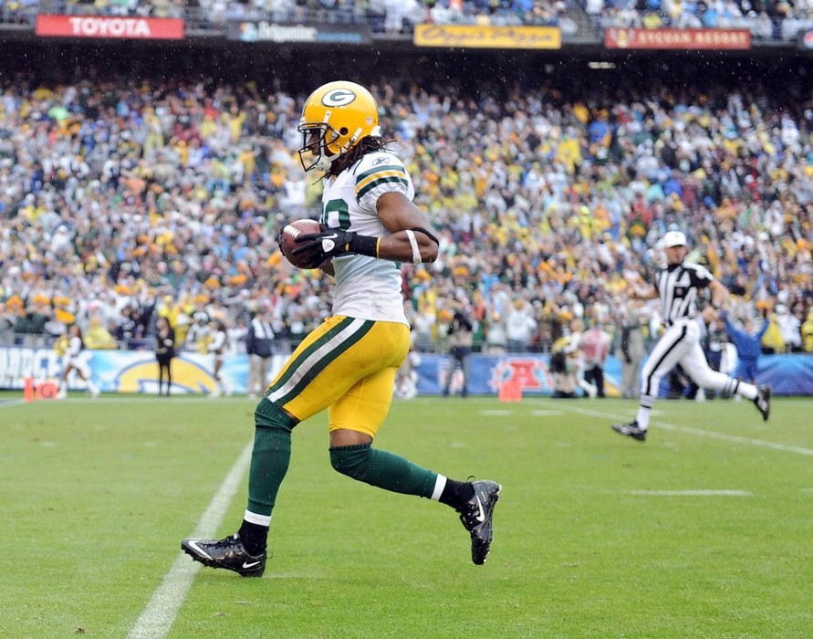 Tramon Williams earned bonus points for several Cheesestradamus players in the final week of the contest's first half.