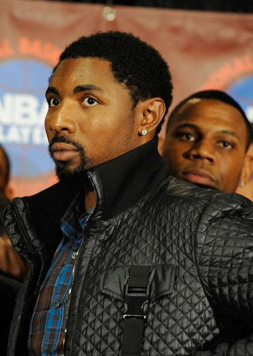NEW YORK, NY - NOVEMBER 08:  Roger Mason attends a press conference after the NBPA held a meeting to discuss the NBA lockout at the Sheraton New York Hotel & Towers on November 8, 2011 in New York City.  (Photo by Patrick McDermott/Getty Images)