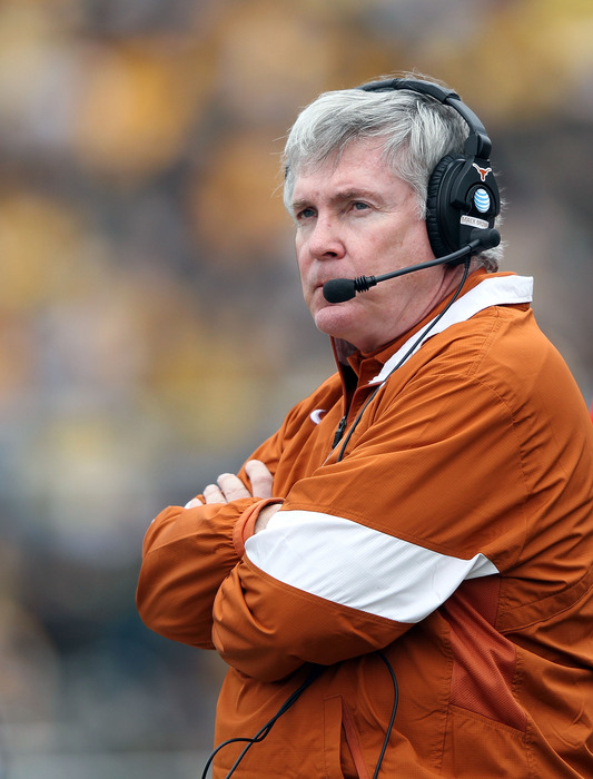 Can Mack Brown complete his greatest comeback effort? (Photo by Jamie Squire/Getty Images)