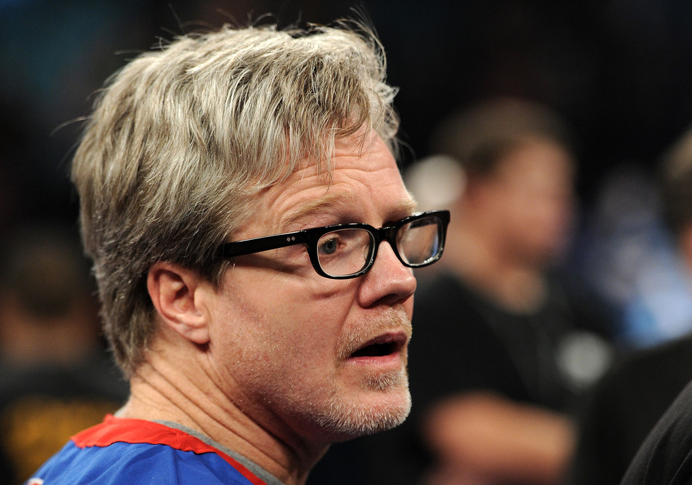 """Episode 3 of """"On Freddie Roach"""" shows us Roach's difficult task in coaching the 2012 U.S. Olympic Boxing Team.  (Photo by Harry How/Getty Images)"""