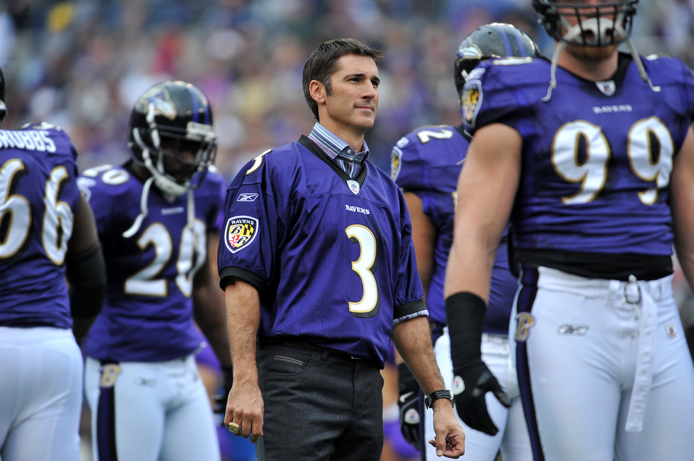 Matt Stover #3, retired, of the Baltimore Ravens is one of the two best players to ever come out of the 12th round of the draft. Find out which Bronco player was the best. (Photo by Larry French/Getty Images)