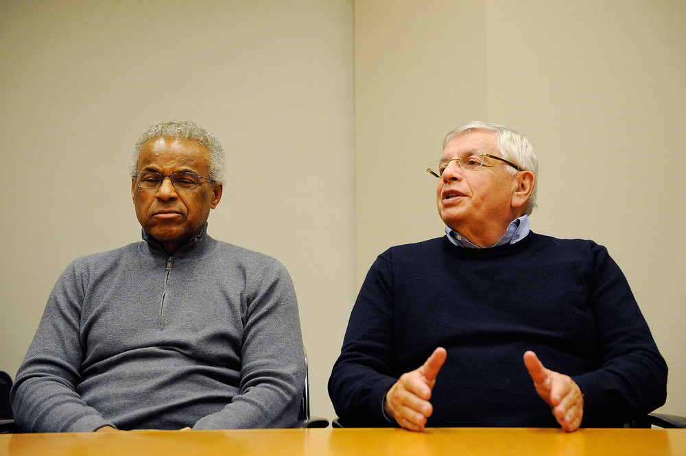 Some pretty unusual things will be in the mix for next season....including the sight of David Stern in a sweater.