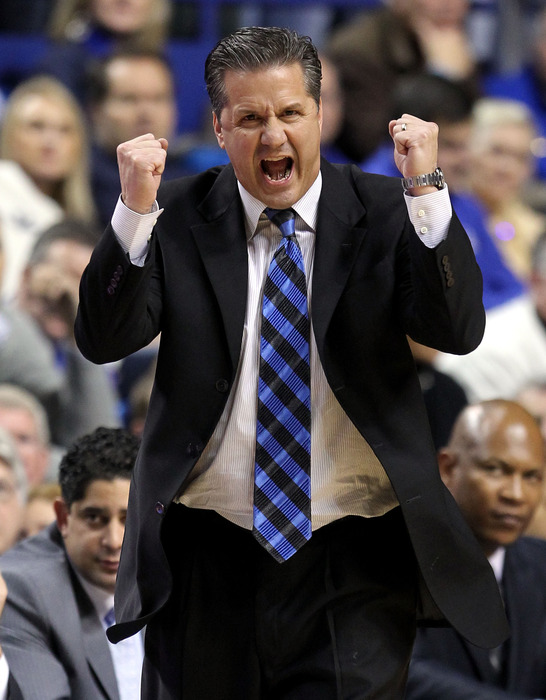 Kentucky's John Calipari is more than excited to be playing Baylor over the next two years.