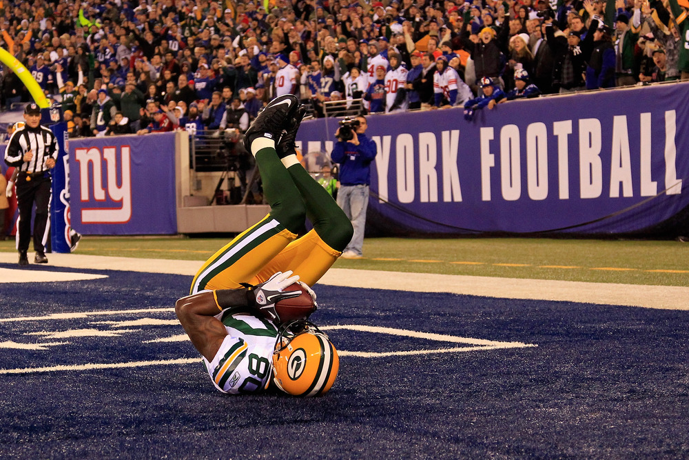 Donald Driver's touchdown catch earned bonus points for one lucky Cheesestradamus player
