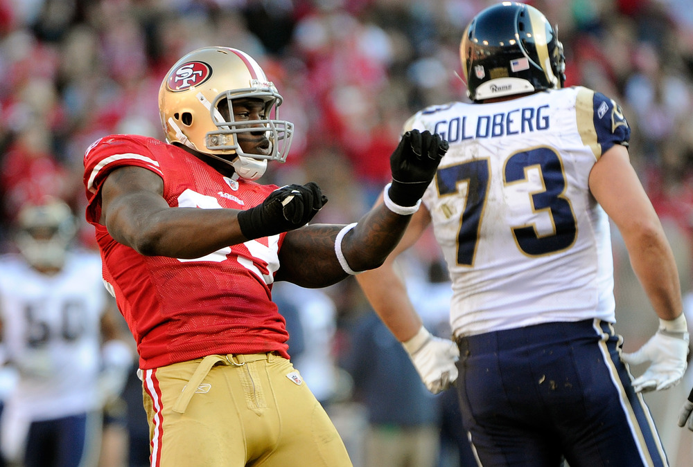 The St. Louis Rams have suffered an unusual amount of injuries along the offensive line, as have other teams. How come the Rams can't overcome those injuries the way other teams have?