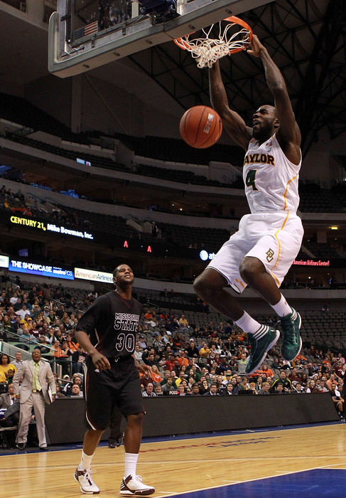 If A&M wants to upset Baylor in Waco, they'll have to put the clamps down on forward Quincy Acy.