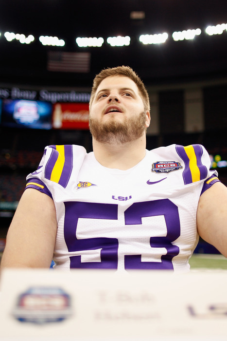The St. Louis Rams have added 23 undrafted rookies. Can any of them stick around? T-Bob Hebert from LSU just might.