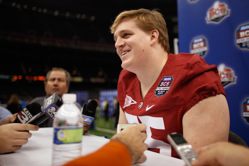 Barrett Jonesof the Alabama Crimson Tide could be a hot commodity in the 2013 NFL Draft.