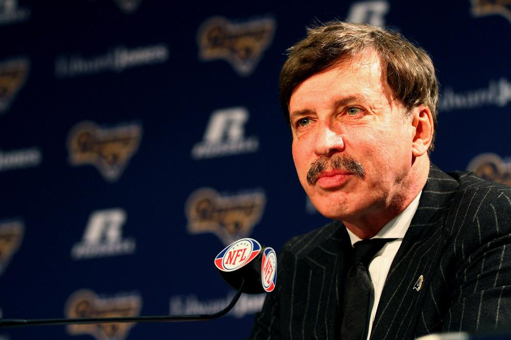St. Louis Rams owner Stan Kroenke