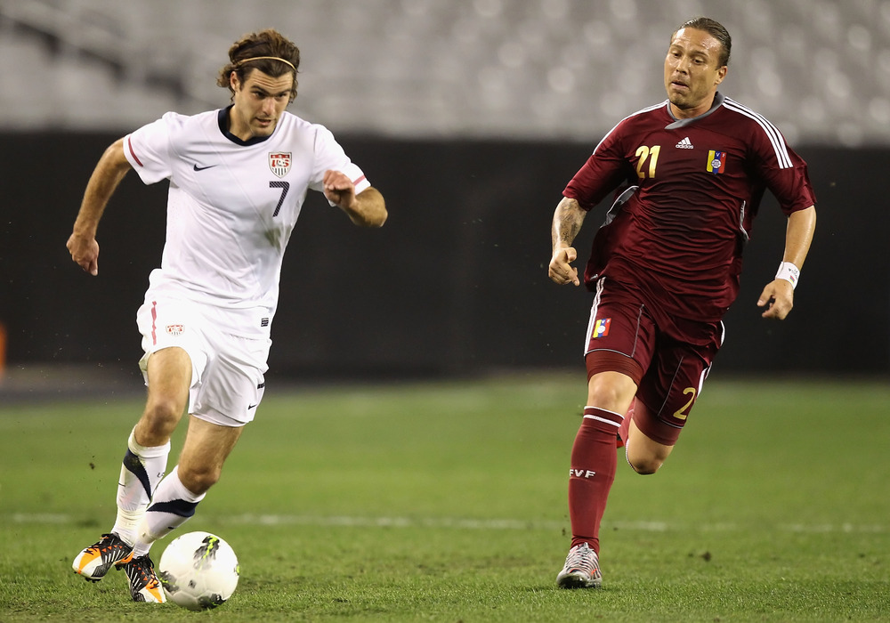 Graham Zusi- USMNT's latest hero. (Photo by Christian Petersen/Getty Images)