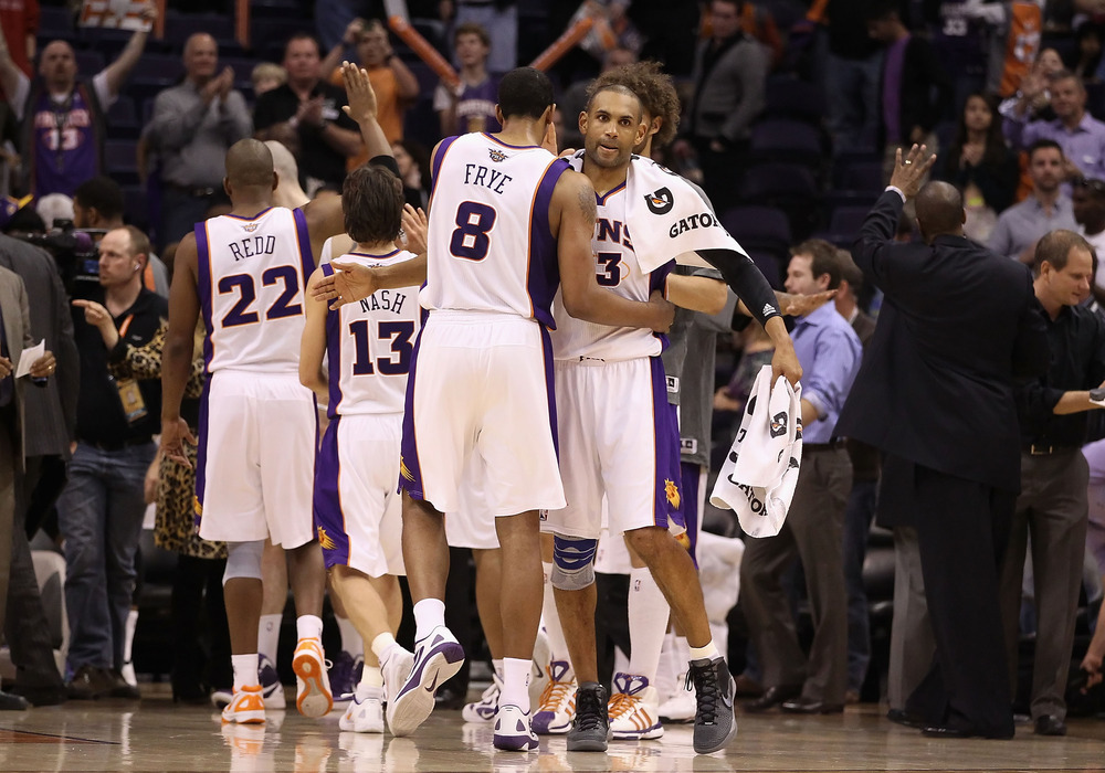 What can the Suns expect to see during the season's second half?