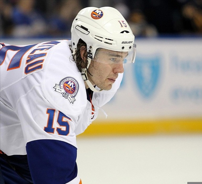 PA Parenteau could be leaving the Islanders via free agency. Timothy T. Ludwig-US PRESSWIRE