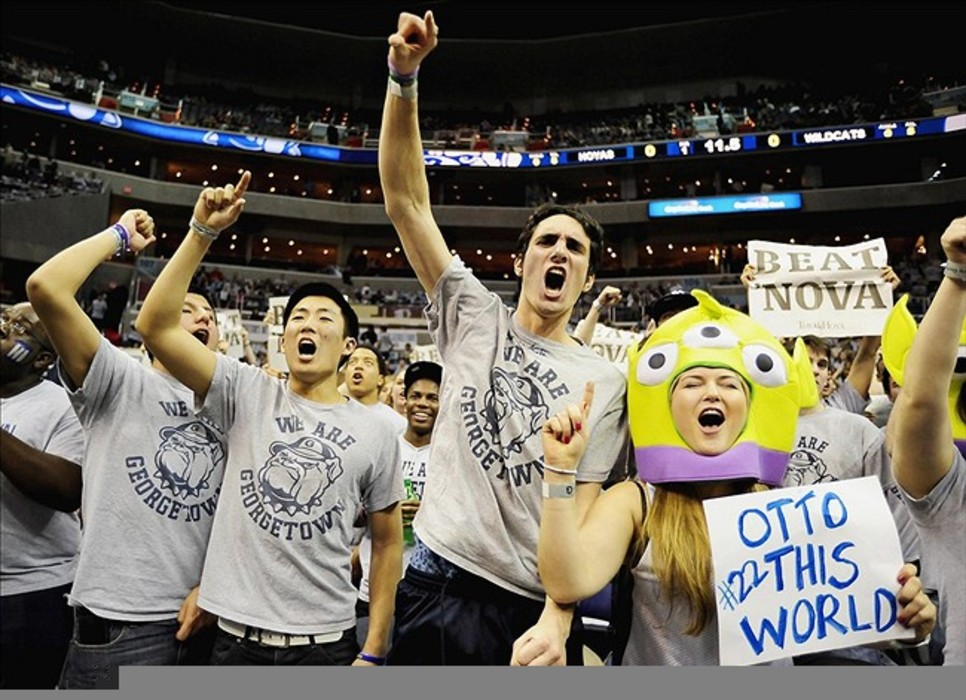 The 2011-12 Hoyas gave us a lot to cheer about. Mandatory Credit: Evan Habeeb-US PRESSWIRE