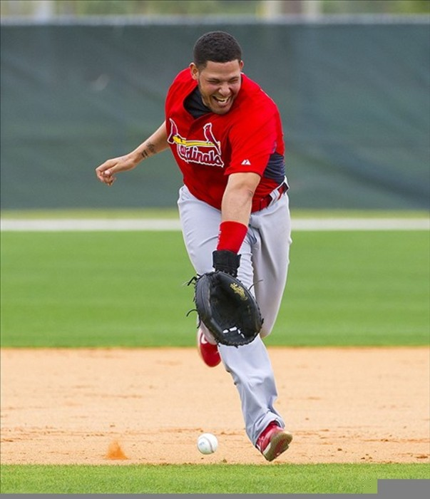If all else fails, anybody can play second base. (Scott Rovak-US PRESSWIRE)