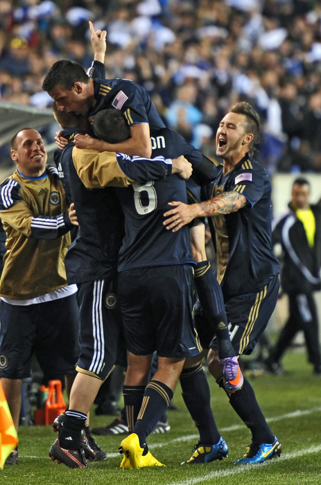 The Philadelphia Union were a brand new club last year and suffered heavily in the tables because of it. Not since the Chicago Fire in 1998 has a true expansion team performed well in their first season. (Photo by Drew Hallowell/Getty Images)