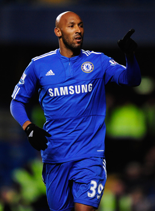 Will Chelsea FC striker Nicolas Anelka end up playing for the Montreal Impact? (Photo by Jamie McDonald/Getty Images)