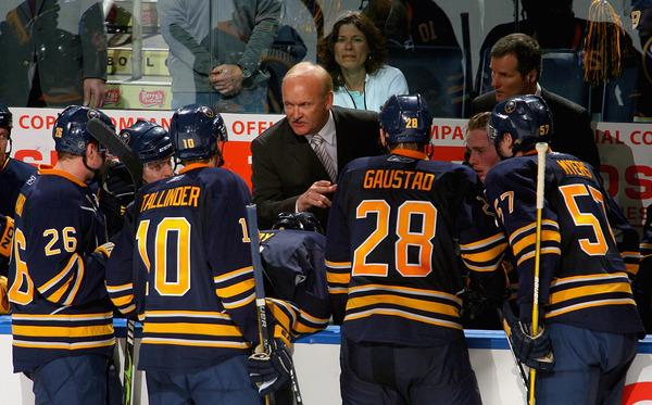 Behold, the only current NHL head coach to stand behind his team's bench longer than Nashville's Barry Trotz.