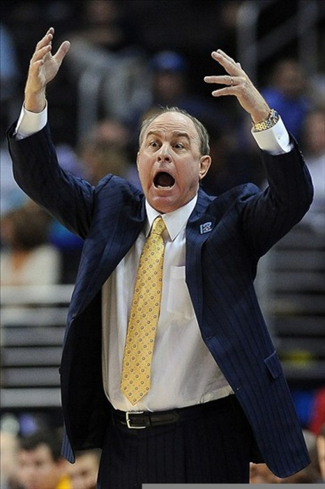 I expect a similar reaction from Ben Howland when UCLA is given the Death Penalty by the NCAA. Mandatory Credit: Jayne Kamin-Oncea-US PRESSWIRE
