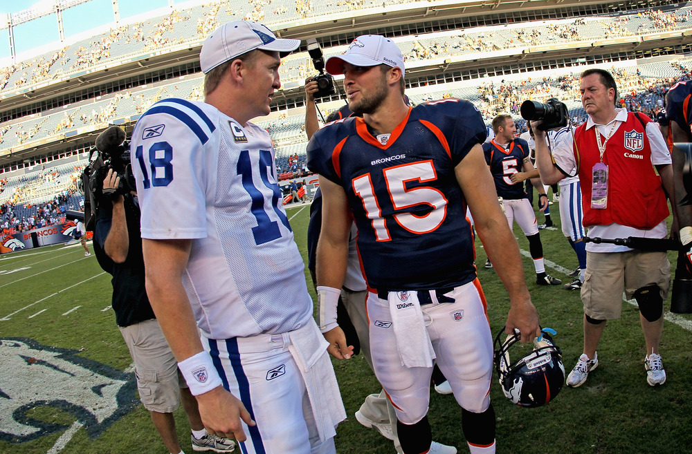 """""""Can you help me get better?"""" """"I can help the <em>Broncos</em> get better!"""" """"Okay, thanks!"""" """"hehehe"""""""