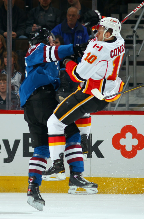 Landeskog doing one of the many things he does to help fantasy teams.
