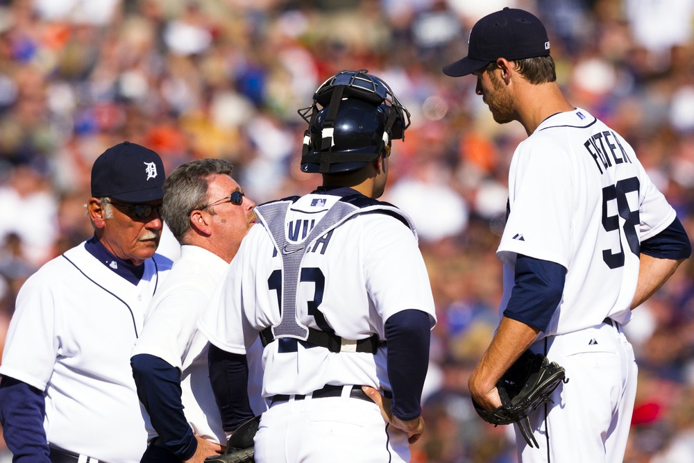 The last time Doug Fister stood on a mound in Detroit, they were undefeated.