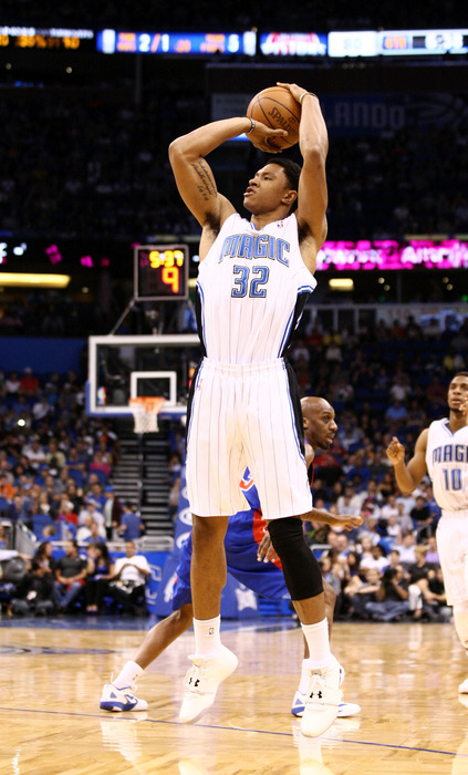 Justin Harper was one of three Orlando Magic bigs that impressed on the opening day of NBA Summer League in Orlando.