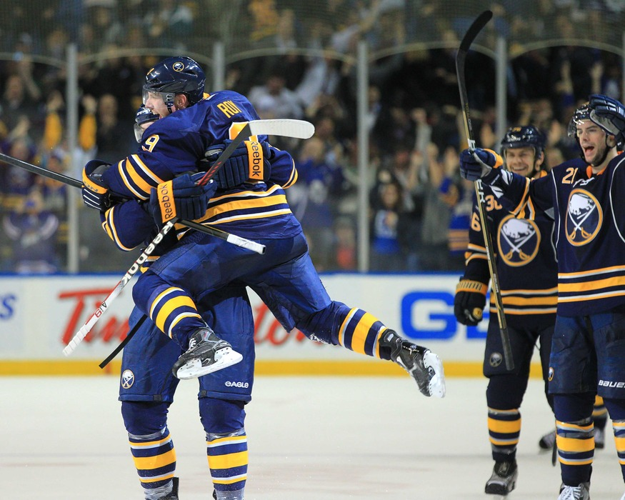 Thumbs Up: Was by far the Sabres team leader in Hockey Hugs.