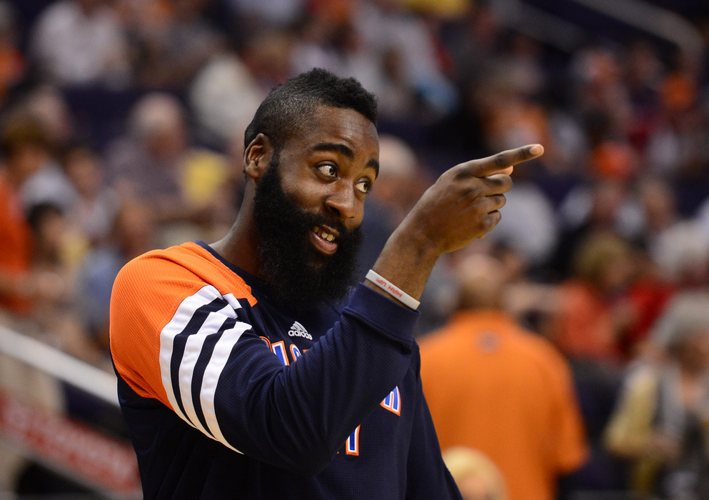 James Harden knows what's up.