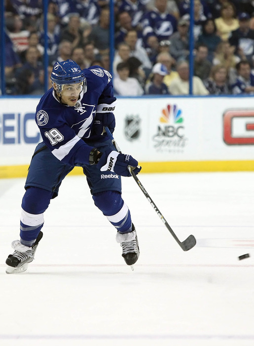 Lightning forward J.T. Brown was a highlight sought after collegiate free agent in 2012.  Just where would he have gone if he was exposed to the NHL Entry Draft?  Mandatory Credit: Kim Klement-US PRESSWIRE