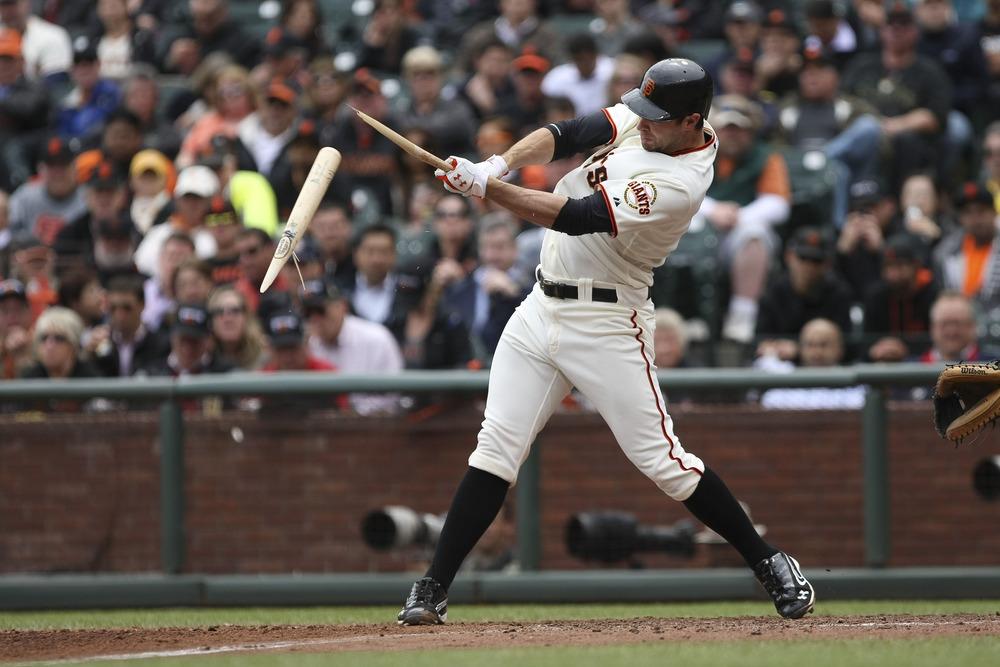 Cracked bats Series:  Mandatory Credit: Kelley L Cox-US PRESSWIRE
