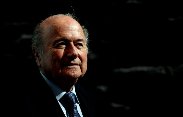 ZURICH, SWITZERLAND - MAY 14:  Sepp Blatter,  President of FIFA during the 2018/2022 World Cup Bid Book Handover ceremony at FIFA Headquarters  on May 14, 2010 in Zurich, Switzerland.  (Photo by Ross Kinnaird/Getty Images)