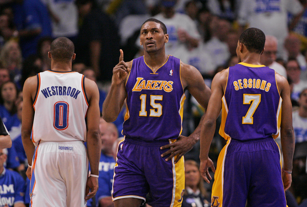 Metta World Peace thinks he has a solution to the Lakers' problems. So do I!