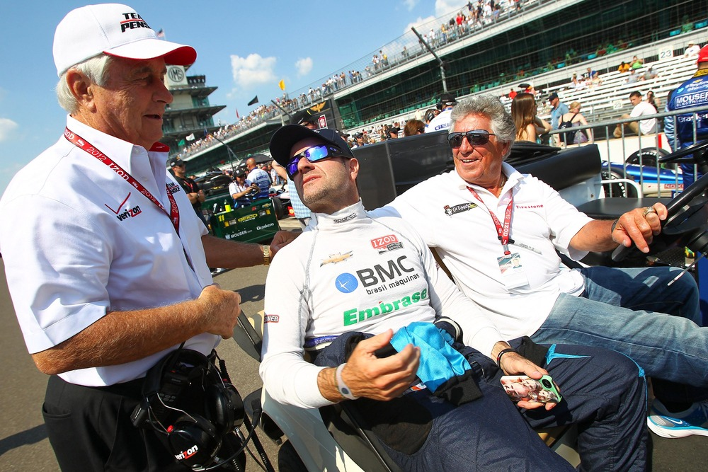Is Rubens Barrichello going to be the 2012 Indy 500 Rookie of the Year? Dale Nixon hopes so. (PHOTO: Michael Hickey-US PRESSWIRE)