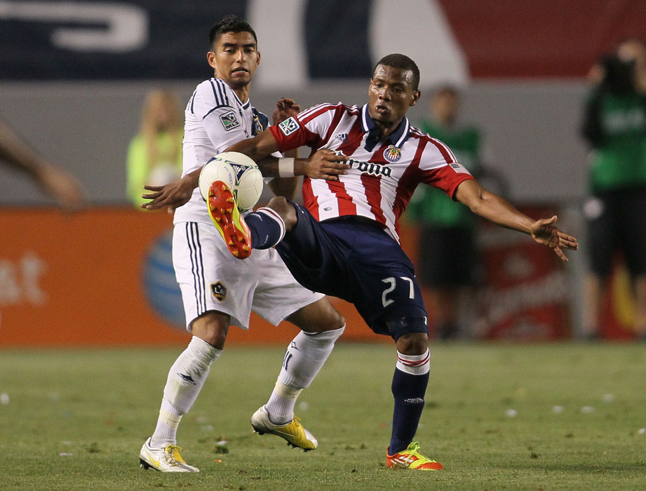 CARSON, CA - MAY 19:  Correa got the Reserve Goats a goal today. (Photo by Victor Decolongon/Getty Images)
