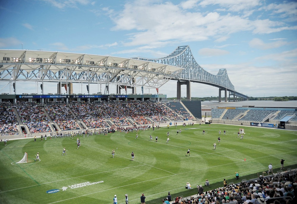 PPL Park looked like a really awesome place for lacrosse. I demand a quarterfinal at Red Bull Arena now. Thank you very much, MLS!