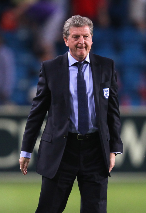 OSLO, NORWAY - MAY 26:  Roy Hodgson the manager of England looks on during the International Friendly match between Norway and England at Ullevaal Stadion on May 26, 2012 in Oslo, Norway.  (Photo by Alex Livesey/Getty Images)